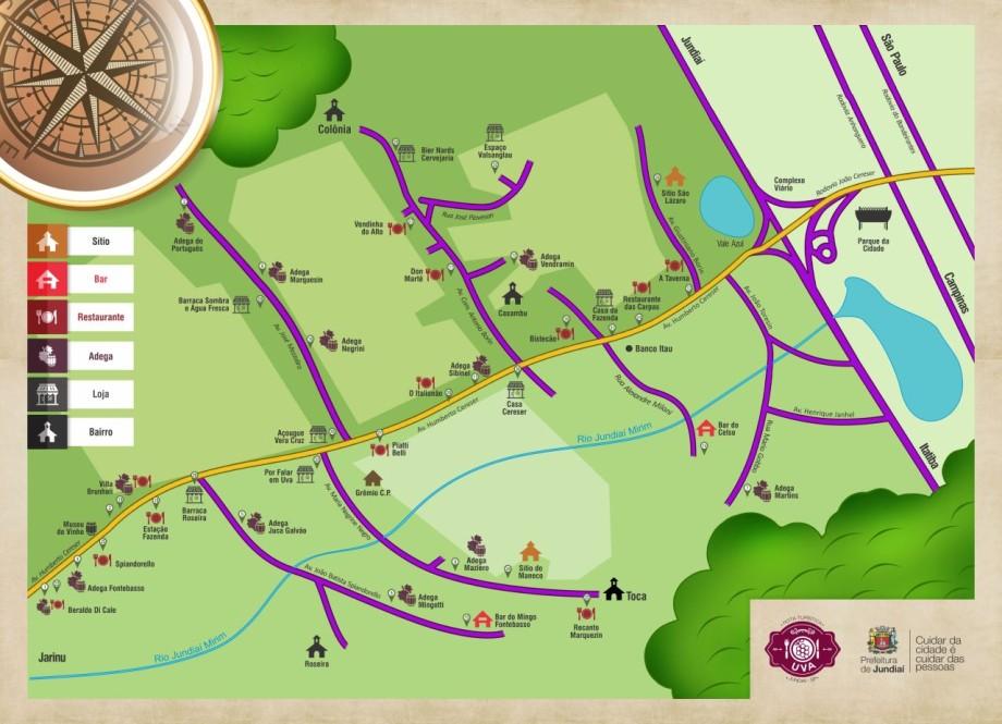 Mapa Rota da Uva_2015